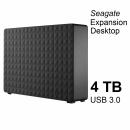 Seagate Expansion Desktop 4 TB, 3.5 Zoll externe Festplatte, schwarz, USB 3.0