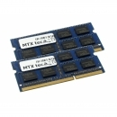 MTXtec 8GB Kit 2x 4GB DDR2 800MHz SODIMM DDR2 PC2-6400, 200 Pin RAM Laptop-Speicher