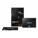 Samsung 870 EVO 500 GB, SSD SATA 6 GB/s, 2.5 Zoll (MZ-77E500B/EU)