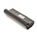 ASUS Eee PC 1000H, kompatibler Akku, LiIon, 7.4V, 6600mAh, schwarz