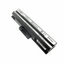SONY Vaio VGN-CS36GJ/R, kompatibler Akku, LiIon, 11.1V, 4400mAh, schwarz