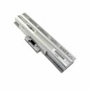 SONY Vaio VGN-CS11ZR/R, kompatibler Akku, LiIon, 11.1V, 4400mAh, silbergrau