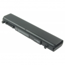 TOSHIBA Satellite Pro R840, kompatibler Akku, LiIon, 10.8V, 4400mAh, schwarz