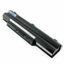 FUJITSU LifeBook E752, kompatibler Akku, LiIon, 10.8V, 5200mAh, schwarz