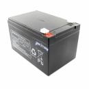 USV/UPS-Akku 12V, 12000mAh (1 Akku von 2) für APC Smart-UPS 1000VA USB SUA1000I