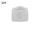 Toshiba Canvio Slim for Mac externe Festplatte 500 GB 6,4 cm (2,5 Zoll) USB 3.0 silber (HDTD205ESMDA)