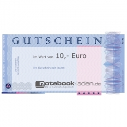 Bild 1: Geschenkgutschein über 10 Euro