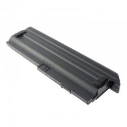Bild 1: LENOVO ThinkPad X201, kompatibler Akku, LiIon, 10.8V, 7800mAh, schwarz, Hochkapazitätsakku